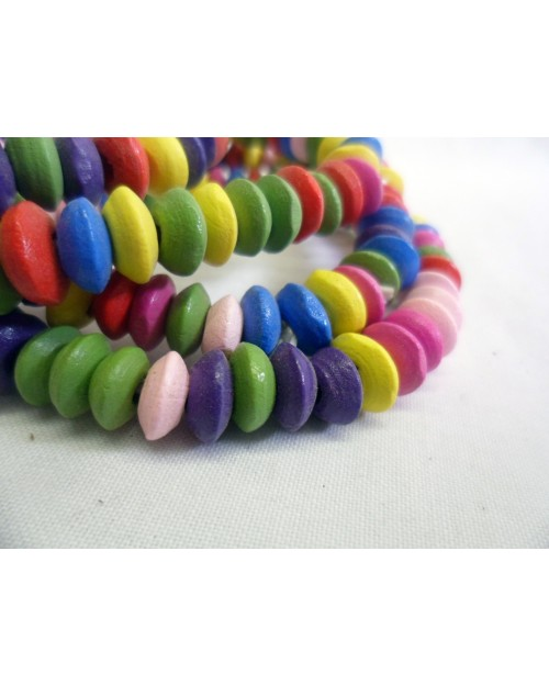 THE SMARTY LOOKING BRACELET - MULTI COLOURED BEADS SET OF 4