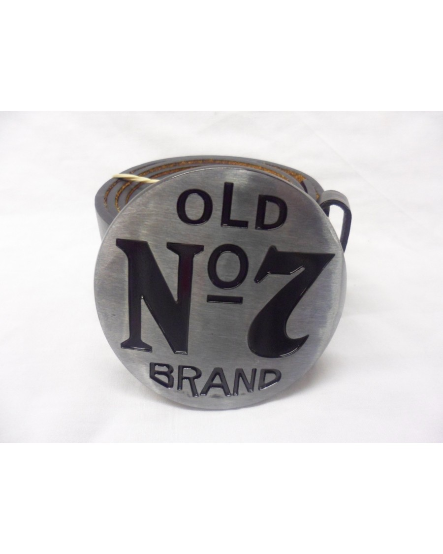 JACK DANIELS 'OLD NO7 BRAND' BUCKLE with BELT