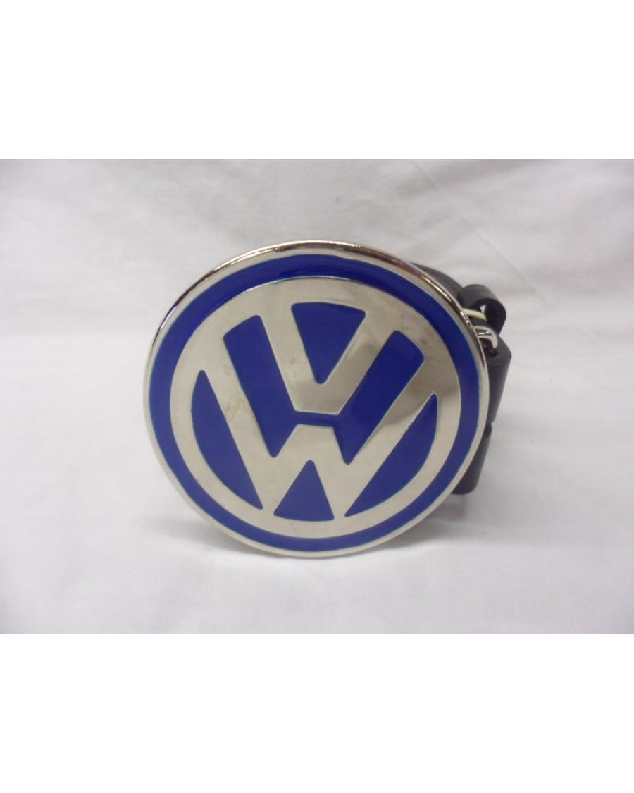 BLUE VW - VOLKSWAGENS LOGO BUCKLE with BELT