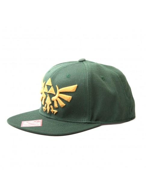 AWESOME NINTENDO'S ZELDA TRI-FORCE SNAPBACK CAP.