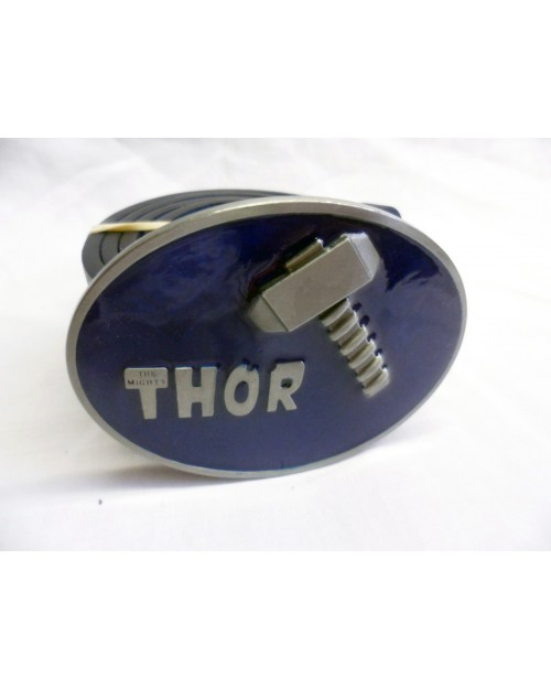 MARVEL'S 'THE MIGHTY THOR' WITH HAMMER BLUE BUCKLE with BELT