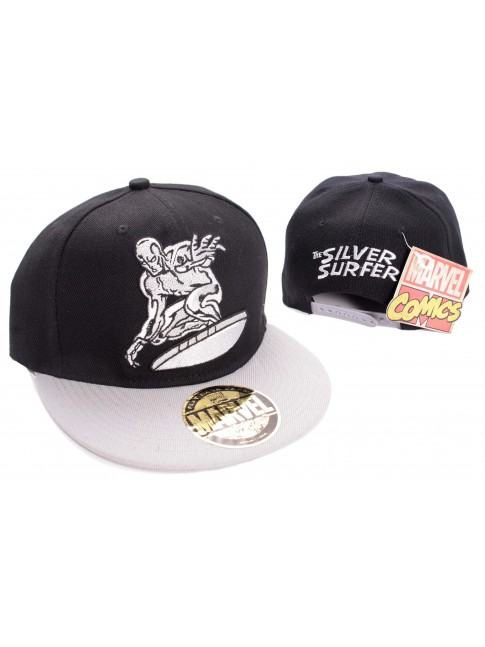 AWESOME MARVELS THE SILVER SURFER SNAPBACK CAP