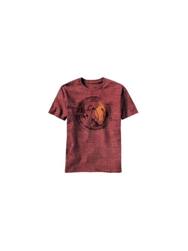 AWESOME MARVEL'S IRON MAN GOLD HELM T-SHIRT