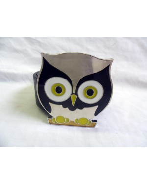 COOL INDIE SHINY OWL BUCKLE with BELT