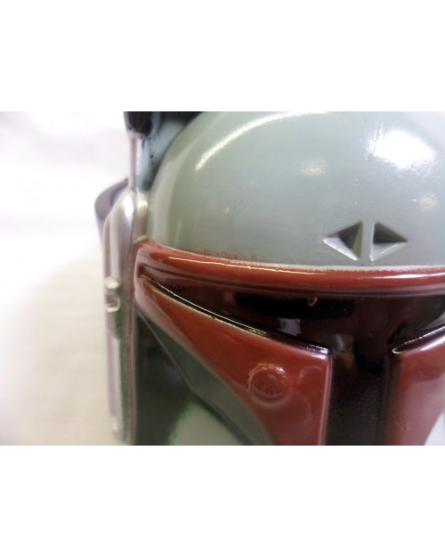 AWESOME STAR WARS BOBA FETT BOUNTY HUNTER CLOSE UP BUCKLE with BELT