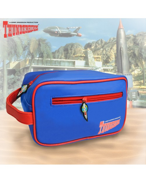 THUNDERBIRDS BLUE AND RED WASH BAG