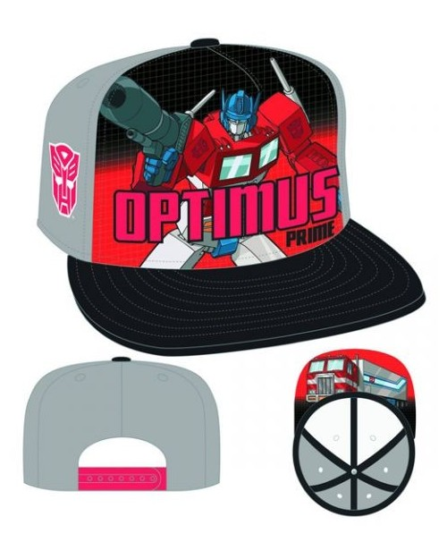TRANSFORMERS OPTIMUS PRIME NEW ERA SNAPBACK CAP
