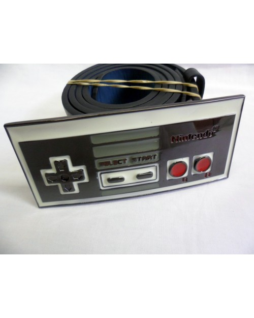 AWESOME NINTENDO CLASSIC CONTROLLER BUCKLE with BELT