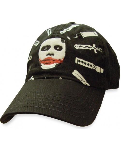 AWESOME BATMAN: THE DARK KNIGHT LOGO/ BATS TRUCKER CAP