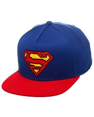 AWESOME SUPERMAN ACTUAL CORK SNAPBACK CAP