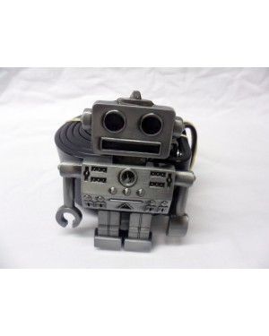 CUTE RETRO ROBOT BUCKLE with BELT