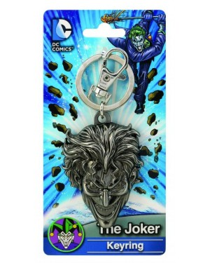 OFFICIAL DC COMICS BATMAN: THE JOKER CLOSE UP FACE KEYRING