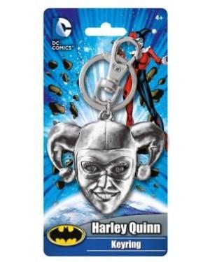 OFFICIAL DC COMICS BATMAN CLOSE UP FACE KEYRING