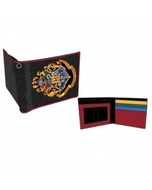 AWESOME HARRY POTTER HOGWARTS SCHOOL OF WITCHCRAFT AND WIZARDRY BADGE WALLET