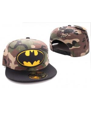 AWESOME DC COMICS CLASSIC BATMAN SYMBOL BLACK & YELLOW SNAPBACK CAP