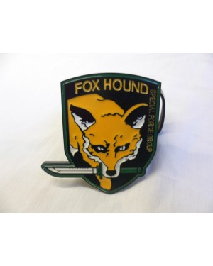 METAL GEAR FOX HOUND SPECIAL FORCE GROUP BUCKLE with BELT