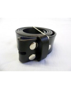 BLACK PAC-MAN GHOST BUCKLE with BELT