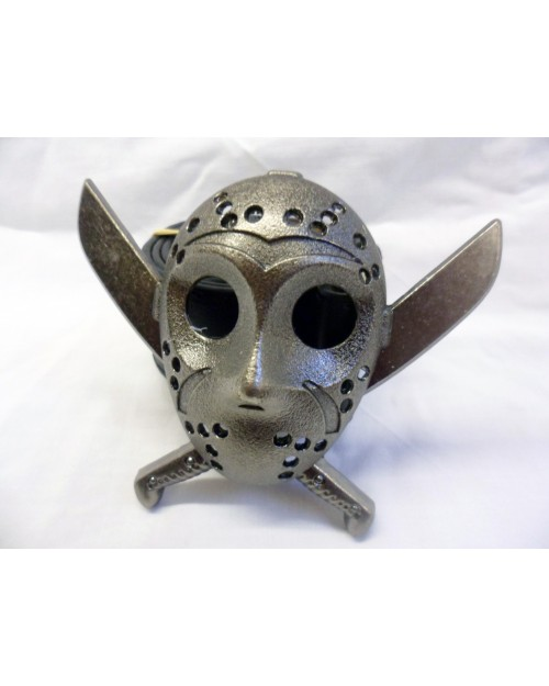 JASON FROM FRIDAY THE 13TH MASK with KNIVES THROUGH IT BUCKLE with BELT