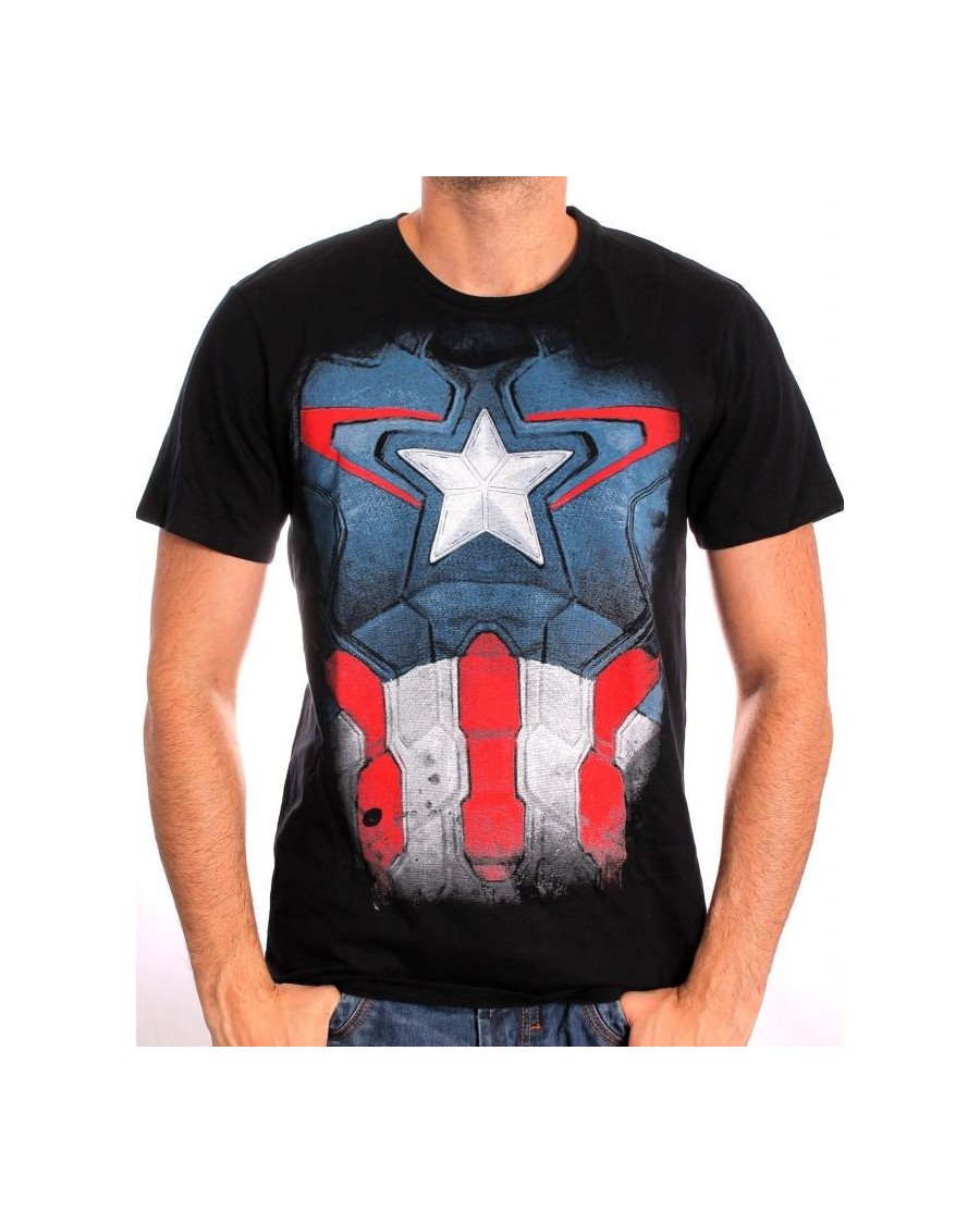 AWESOME MARVEL'S THE MIGHTY THOR: GOD OF THUNDER GREY T-SHIRT