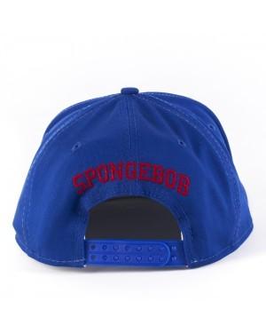 SPONGEBOB SQUARE PANTS GROUPED BLUE AND WHITE SNAPBACK CAP