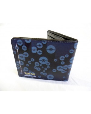 NINTENDO'S POKEMON MEOWTH BLUE & BLACK BI-FOLD WALLET