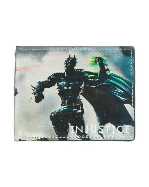 DC COMICS INJUSTICE BATMAN VS SUPERMAN BI-FOLD WALLET