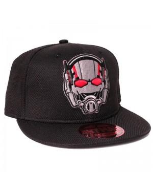 MARVEL COMICS ANT-MAN HELMET/ MASK EMBROIDERED SNAPBACK CAP
