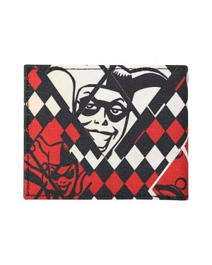 DC COMICS BATMAN: HARLEY QUINN DIAMONDS BI-FOLD WALLET