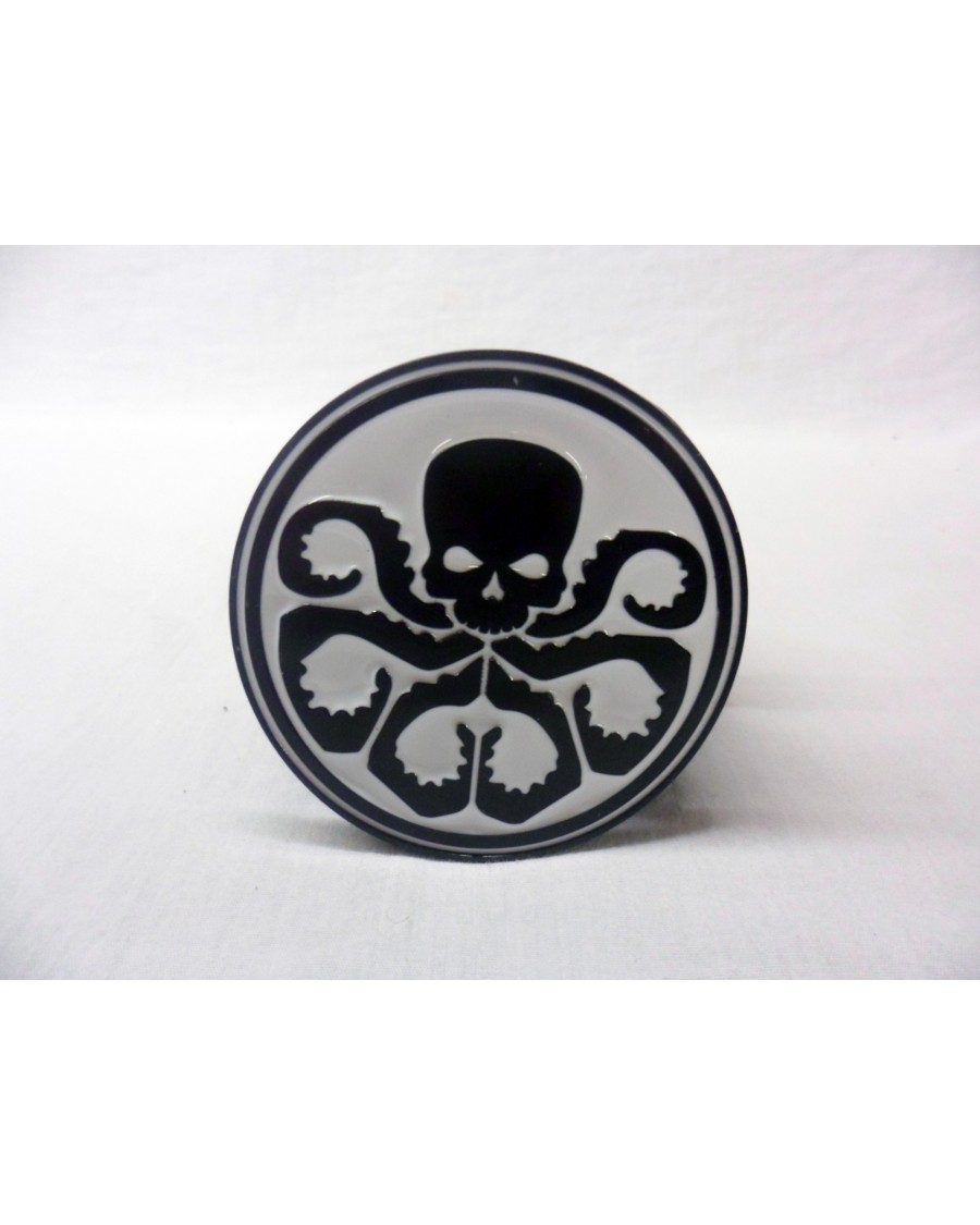 AWESOME MARVELS CAPTAIN AMERICA HYDRA SYMBOL BUCKLE with BELT