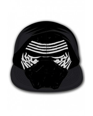 STAR WARS THE FORCE AWAKENS KYLO MASK BLACK COSTUME SNAPBACK CAP