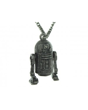 STAR WARS R2-D2 3D MOLDED PENDANT ON CHAIN NECKLACE