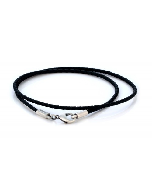 STUNNING BICO 2mm BRAIDED PVC NECKLACE.