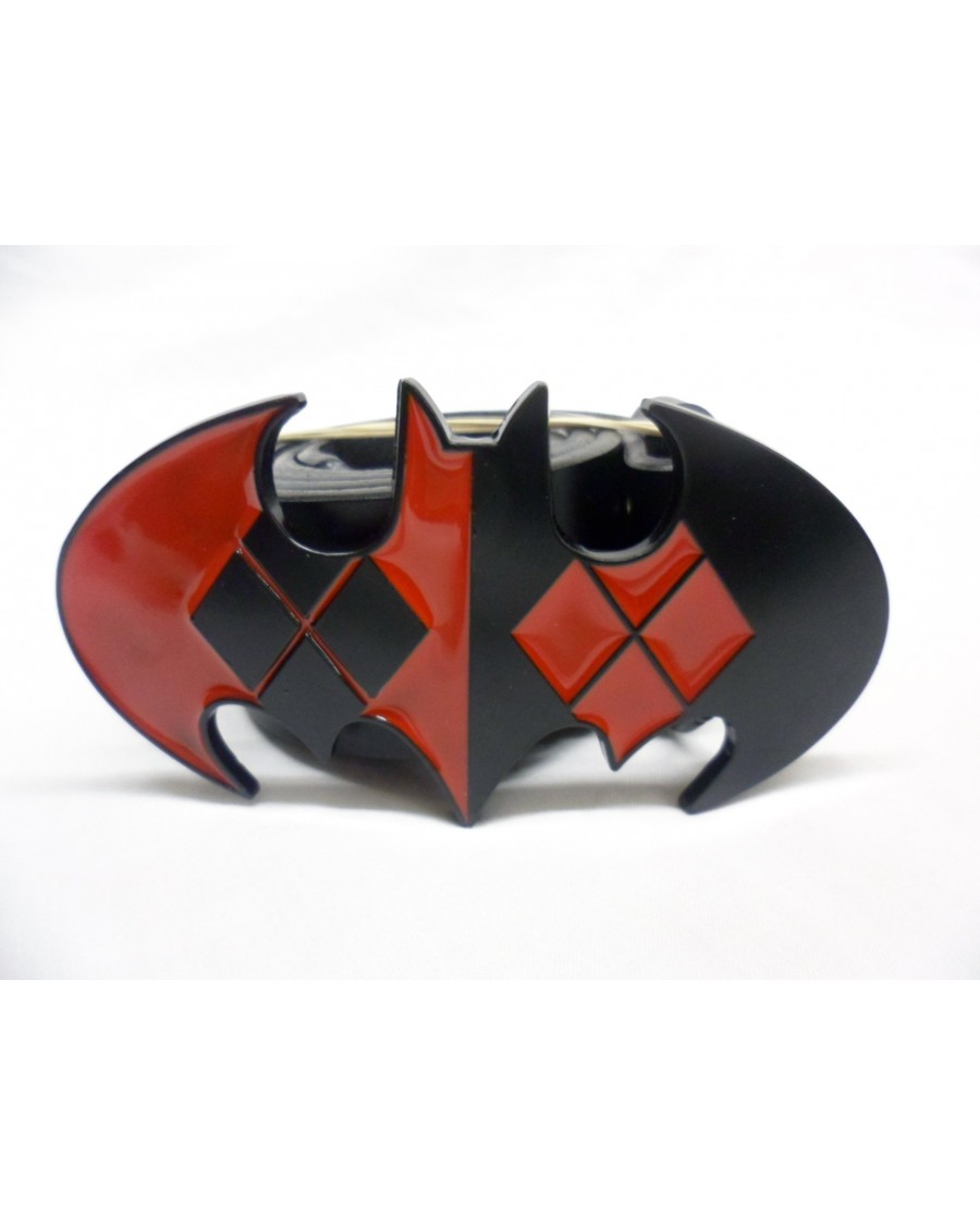 DC COMICS BATMAN: HARLEY QUINN SYMBOL DIAMONDS SYMBOL BUCKLE.