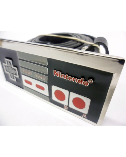 RETRO NINTENDO CONTROLLER BUCKLE with BELT