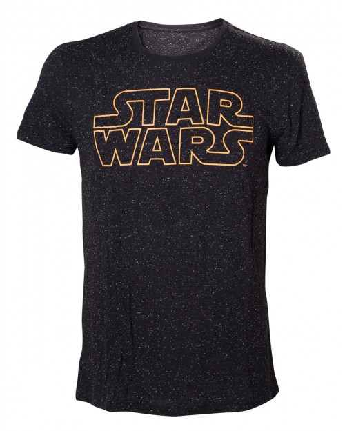 OFFICIAL STAR WARS SYMBOL ALL OVER STARS T-SHIRT