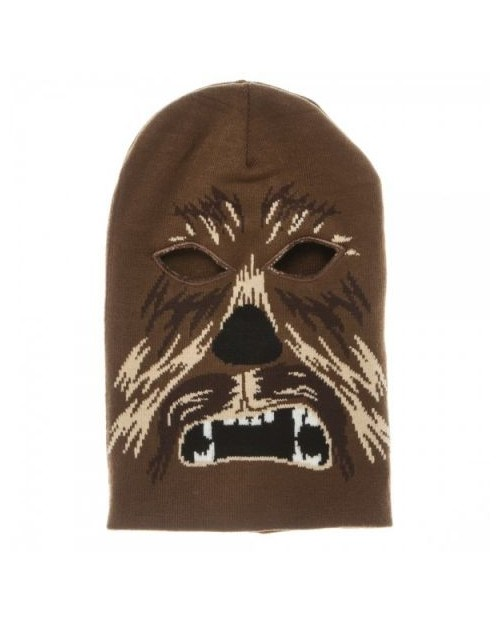 OFFICIAL STAR WARS CHEWBACCA MASK BEANIE HAT