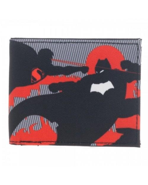 OFFICIAL BATMAN V SUPERMAN: DAWN OF JUSTICE RED WALLET