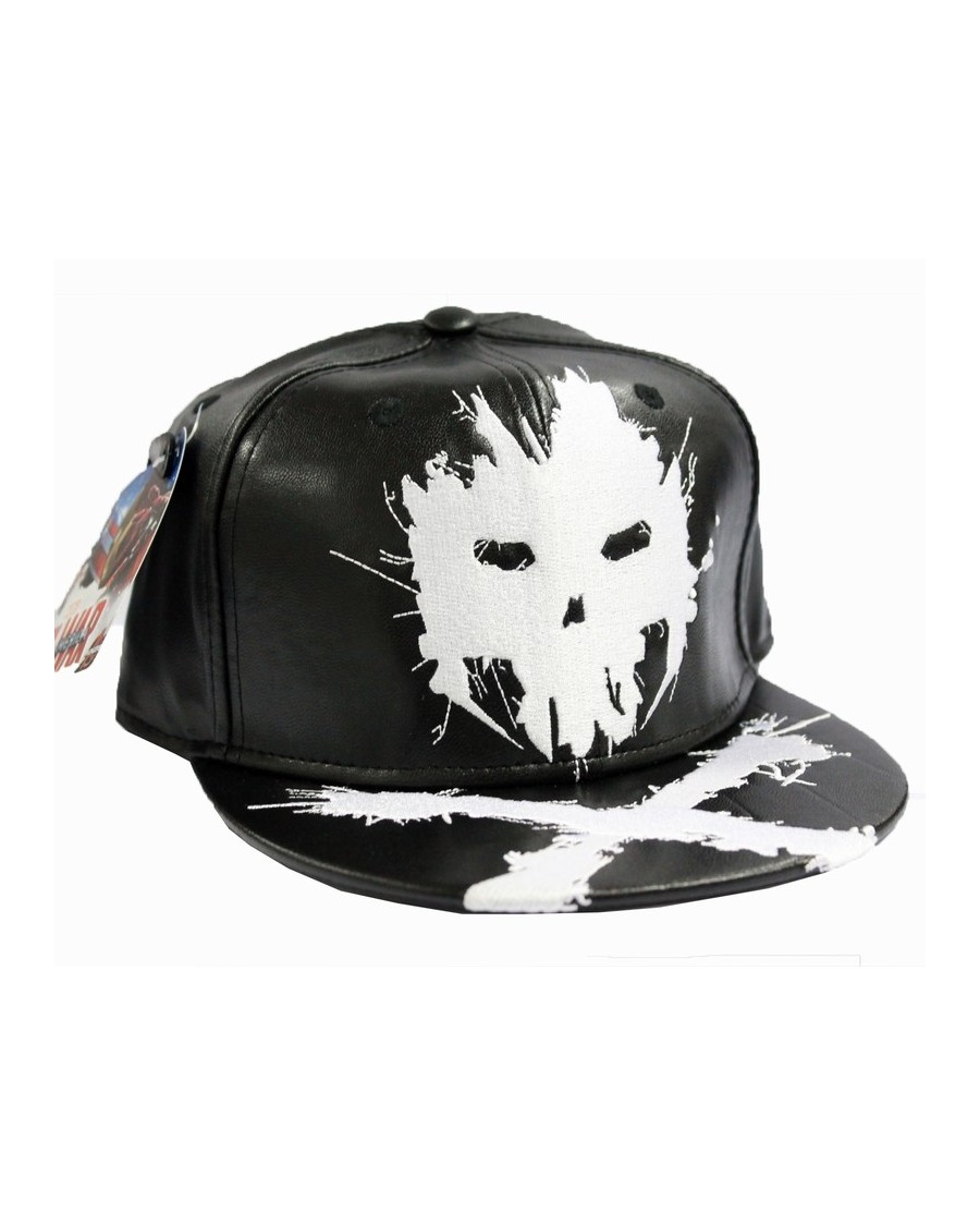 MARVEL'S CAPTAIN AMERICA: CIVIL WAR CROSSBONES BLACK SNAPBACK CAP