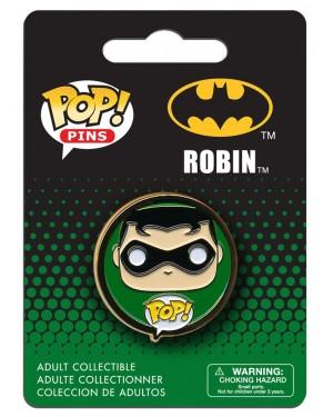 OFFICIAL DC COMICS BATMAN: ROBIN POP! PIN BADGE