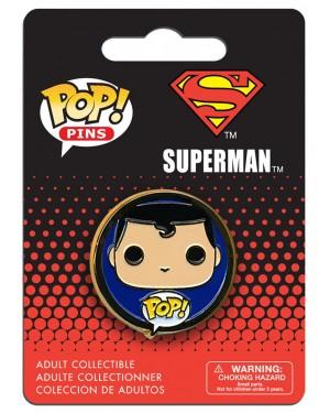 OFFICIAL DC COMICS SUPERMAN POP! PIN BADGE