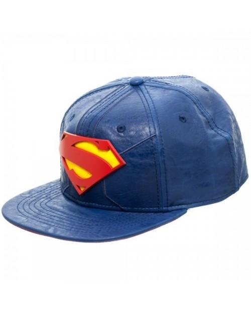 DC COMICS SUPERMAN SYMBOL PU SNAPBACK CAP