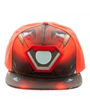 OFFICIAL MARVEL COMICS IRON MAN SUIT BALLISTIC SUBLIMATED SNAPBACK CAP