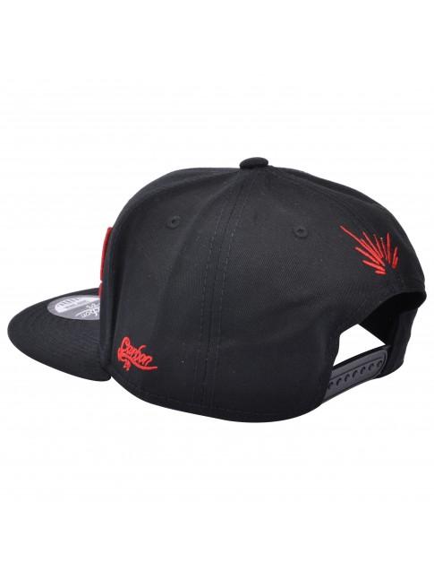 KROOM! (EXPLOSION) BLACK SNAPBACK CAP