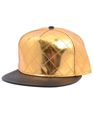 CARBON 212 MERMAID QUILTED GOLD SNAPBACK CAP