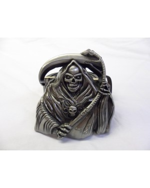 DEATH HIMSELF BUCKLE with BELT