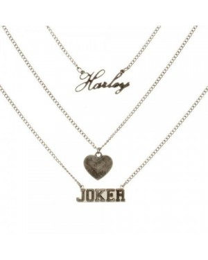 OFFICIAL SUICIDE SQUAD HARLEY QUINN + THE JOKER NECKLACE
