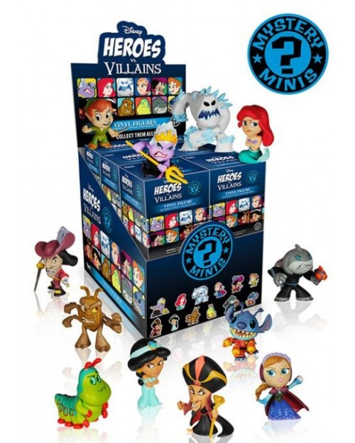 FUNKO MYSTERY MINI BLIND BOX: DISNEY HEROES Vs. VILLAINS