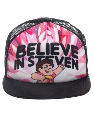 OFFICIAL STEVEN UNIVERSE 'BELIEVE IN STEVEN' TRUCKER SNAPBACK CAP