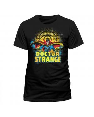 MARVEL COMICS DOCTOR STRANGE WITH SYMBOL BLACK T-SHIRT