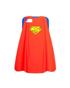 SUPERMANS CAPE RUBBER IPHONE 5 CASE
